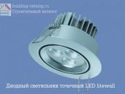 Диодный точечный светильник LED litewall