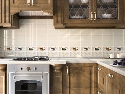отделка стен на кухне кафелем