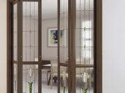 Складные двери в интерьере