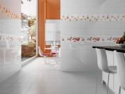 Белая плитка на кухню