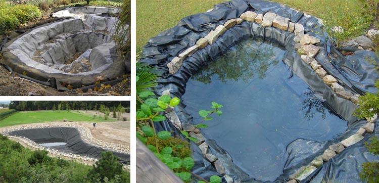 Искусственное озеро из камней и без воды