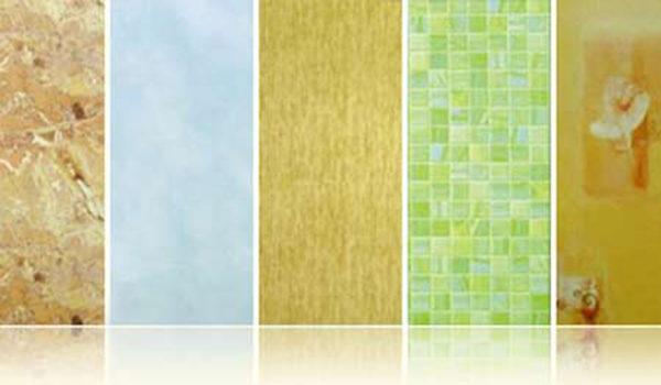 Рисунок и цвет панелей пвх для ванной
